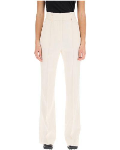 Spodnie z wysokim stanem rozkloszowane Givenchy