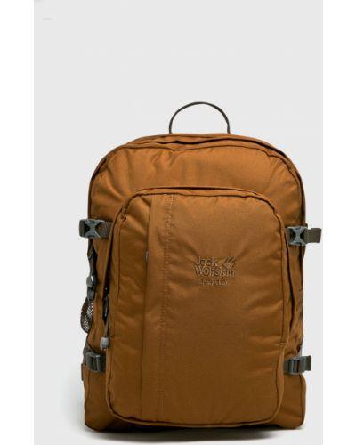 Коричневый рюкзак с отделениями Jack Wolfskin
