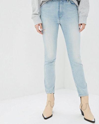 Прямые джинсы голубой Wrangler
