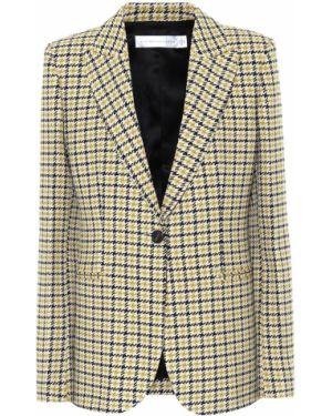 Пиджак черный шерстяной Victoria Beckham