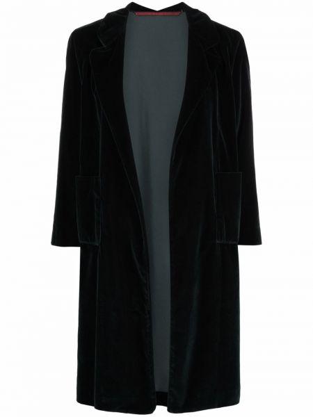 Зеленое длинное пальто Daniela Gregis