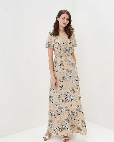 Бежевое платье весеннее Care Of You