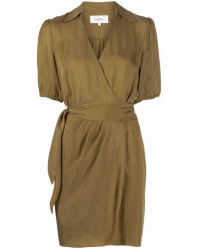 Платье мини короткое - коричневое Ba&sh