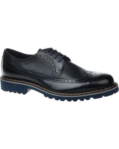 Кожаные туфли - черные Samsonite