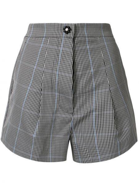 Однобортные шорты со складками на пуговицах Markus Lupfer