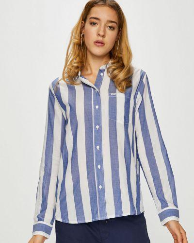 Блузка с длинным рукавом в полоску оверсайз Lee
