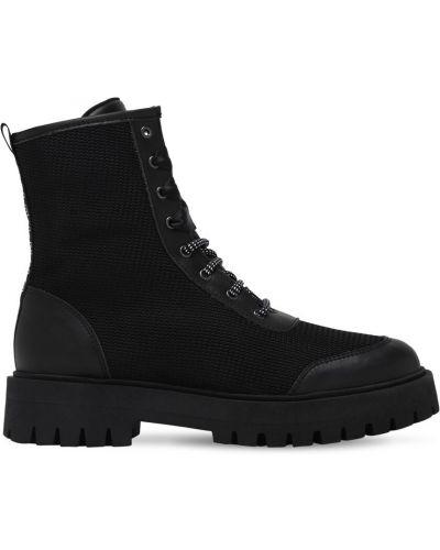 Nylon czarny buty Dkny