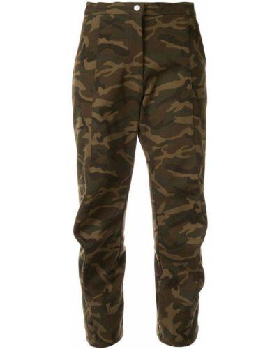 Укороченные брюки - зеленые Zambesi