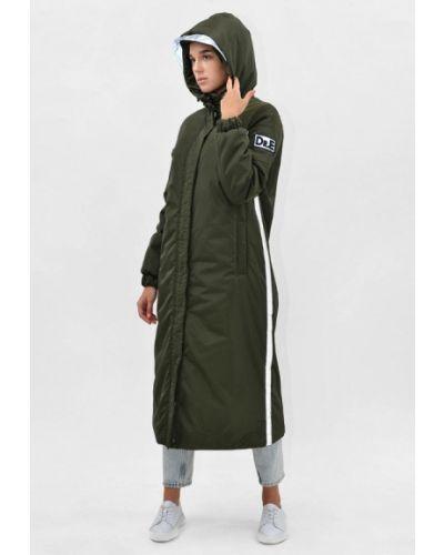 Зеленая теплая куртка Doctor E