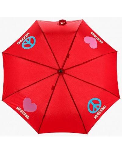 Красный зонт Moschino