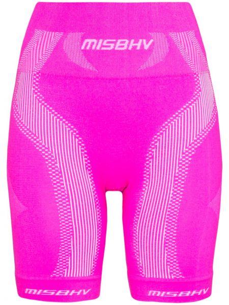 Różowe spodenki sportowe Misbhv