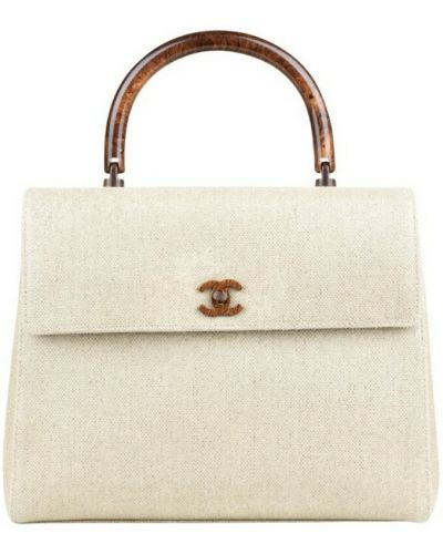 Beżowa torebka vintage Chanel Vintage