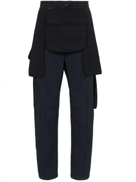 Прямые брюки с карманами новогодние Byborre
