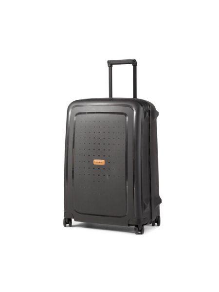 Czarna walizka średnia Samsonite
