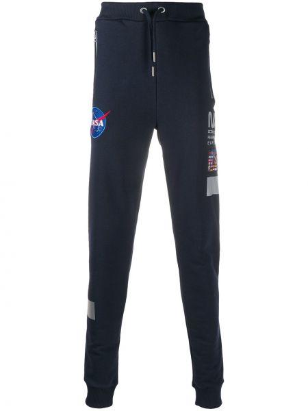 Зауженные брюки с карманами с манжетами на молнии с высокой посадкой Alpha Industries