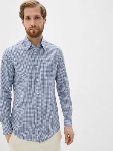 Рубашка с длинным рукавом синий United Colors Of Benetton