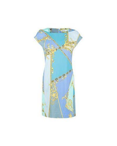 Деловое платье из вискозы Versace Collection