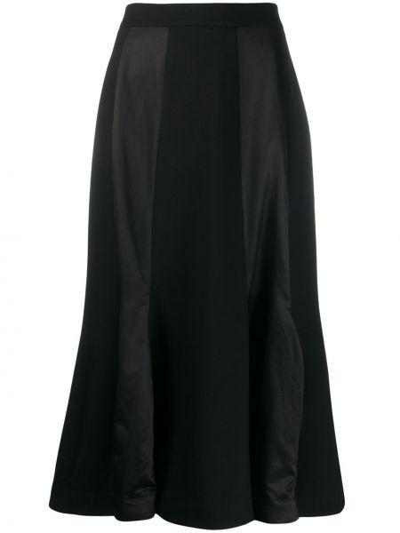 Czarna spódnica bawełniana Aalto