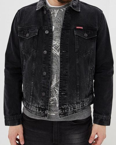 Джинсовая куртка черная Colin's