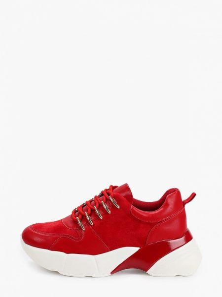 Красные кроссовки из искусственной кожи Vivian Royal