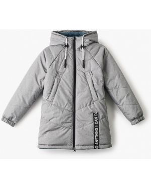 Куртка теплая серая Boom