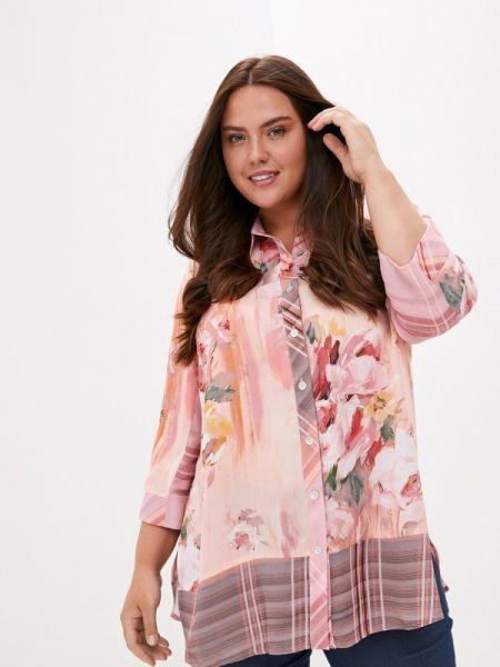 Розовая блузка с длинным рукавом с длинными рукавами Silver String
