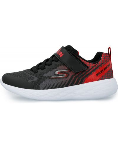 Текстильные черные кроссовки Skechers