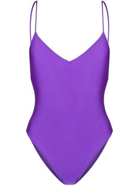Фиолетовый слитный купальник Mc2 Saint Barth