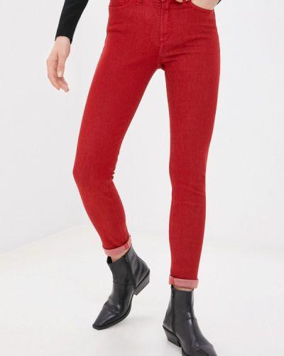 Красные повседневные брюки Pinkkarrot