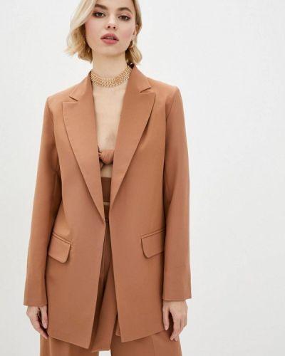Коричневый пиджак Zubrytskaya