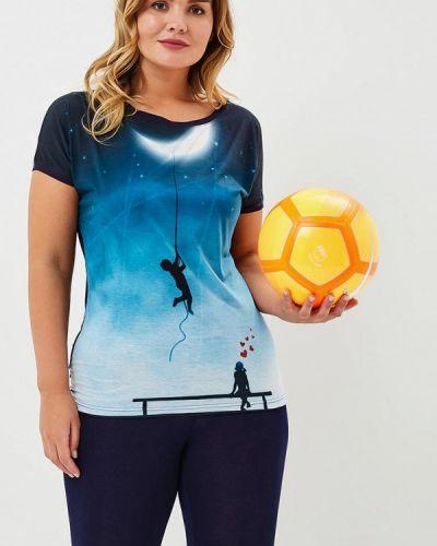 Футболка синий Griol