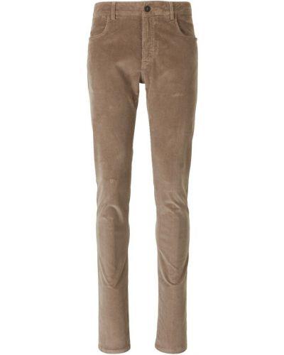 Brązowe spodnie Canali