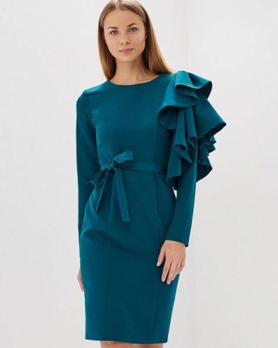 Платье весеннее бирюзовый Bruebeck