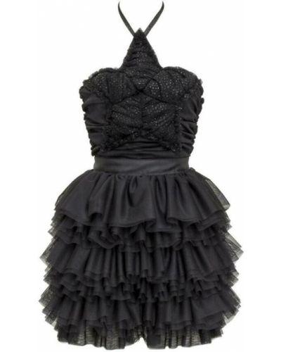 Czarna sukienka Teen Idol