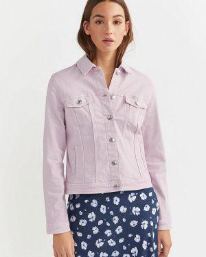 Джинсовая куртка весенняя фиолетовый Springfield