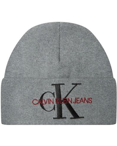 Шапка бини - серая Calvin Klein