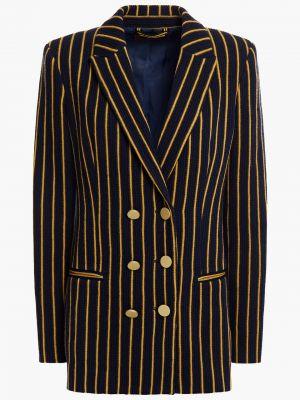 Шерстяной пиджак двубортный с карманами Missoni