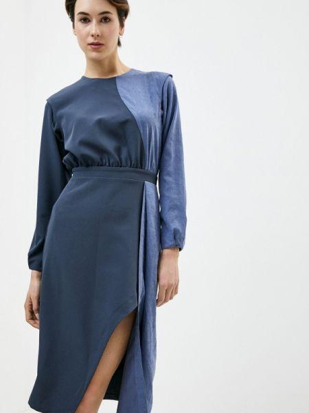 Платье - синее Gk Moscow