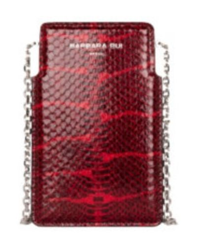 Czerwona torebka Barbara Bui