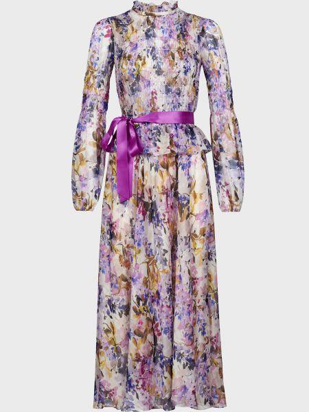 Шелковое платье Luisa Spagnoli