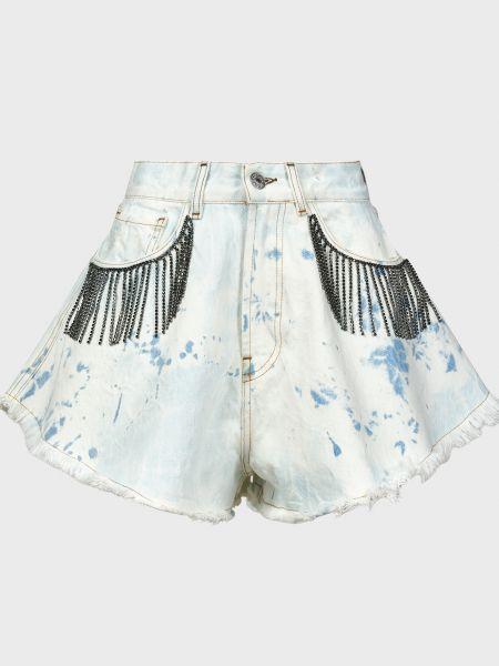 Хлопковые шорты - голубые Forte Dei Marmi Couture