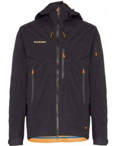 Черная куртка с капюшоном оверсайз Mammut Delta X