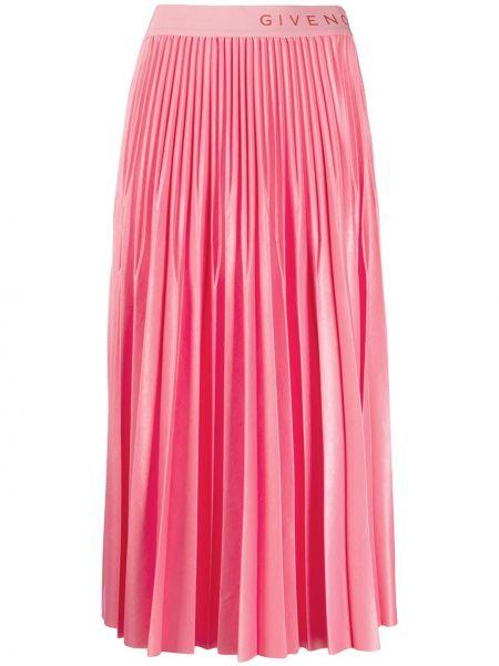 Плиссированная юбка с поясом Givenchy