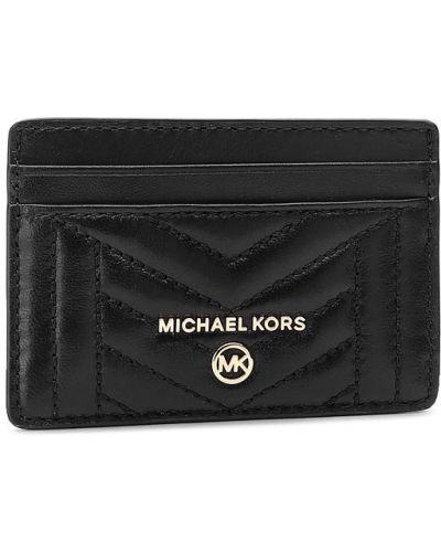 Czarny wizytownik Michael Michael Kors