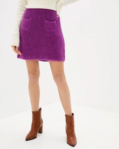 Юбка широкая фиолетовый United Colors Of Benetton