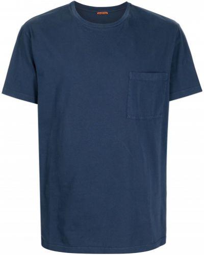Niebieska koszulka krótki rękaw Barena
