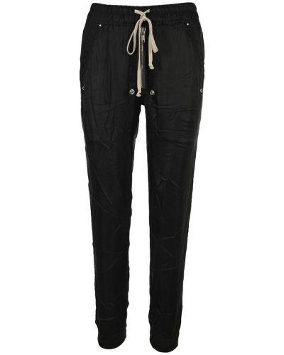 Satynowe spodnie dresowe Rick Owens
