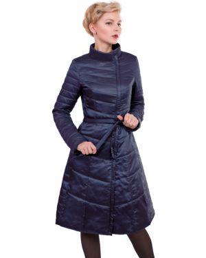 Расклешенное пальто с капюшоном с воротником на молнии с поясом J-splash