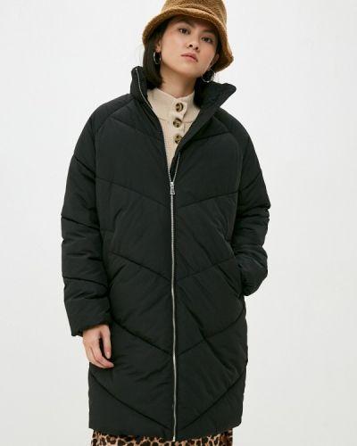 Утепленная черная куртка Befree