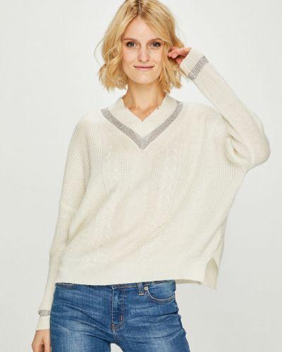 Вязаный свитер с V-образным вырезом в полоску Silvian Heach